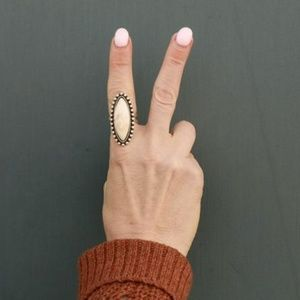 Jewelry - WHITE TURQUOISE RING